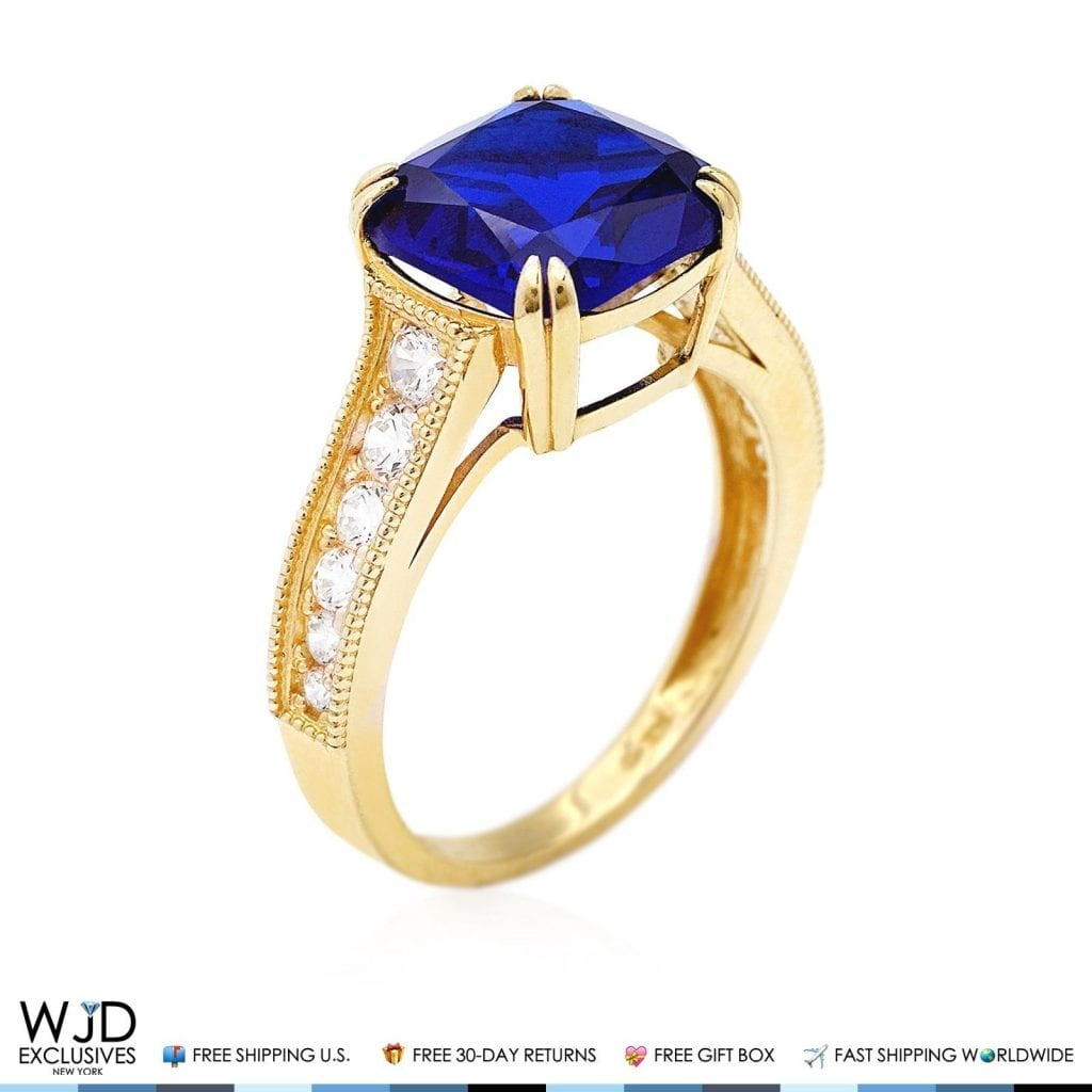 to diamond detail and engagement art antiques sapphire c gold ring
