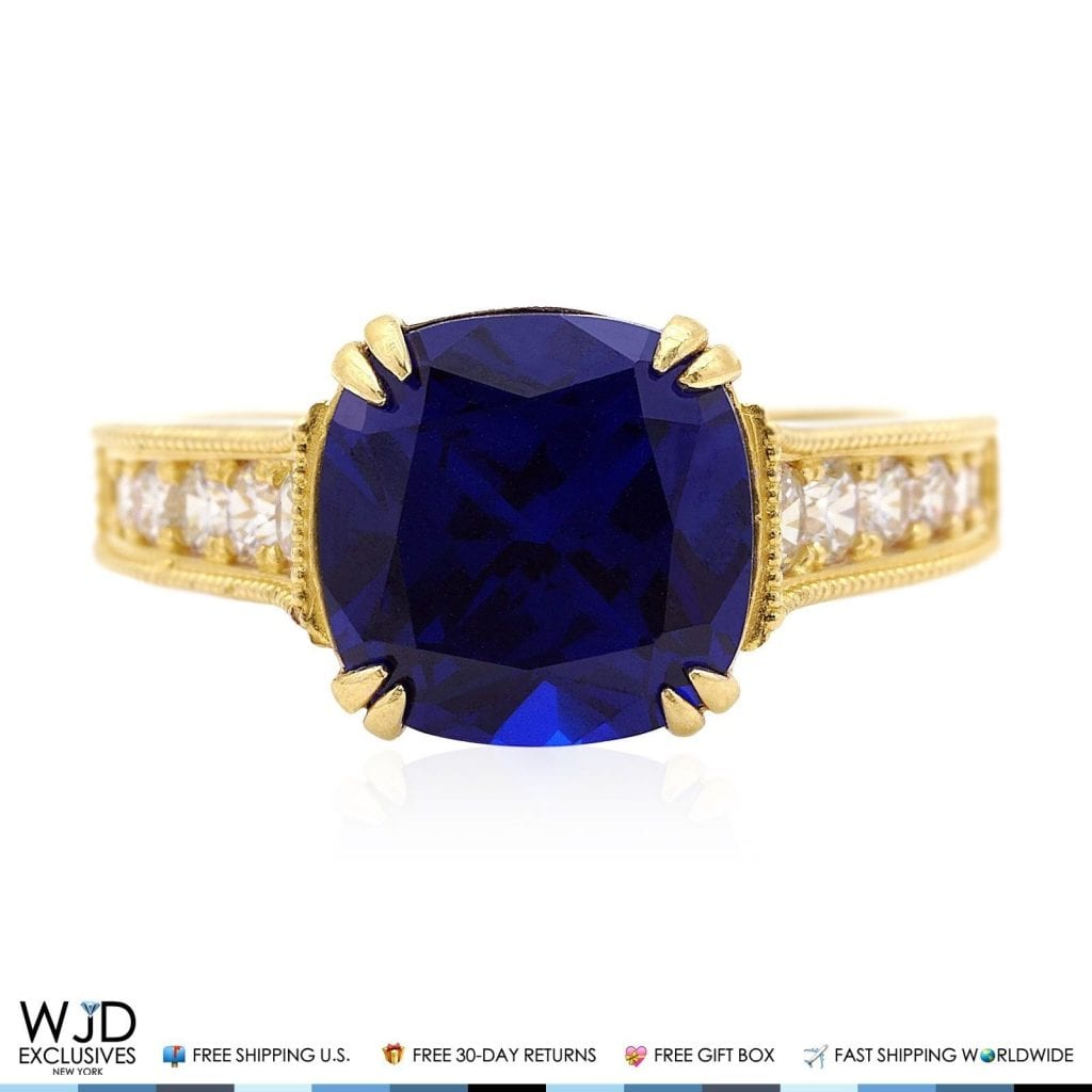 ring antiques sapphire art and gold to detail c diamond engagement
