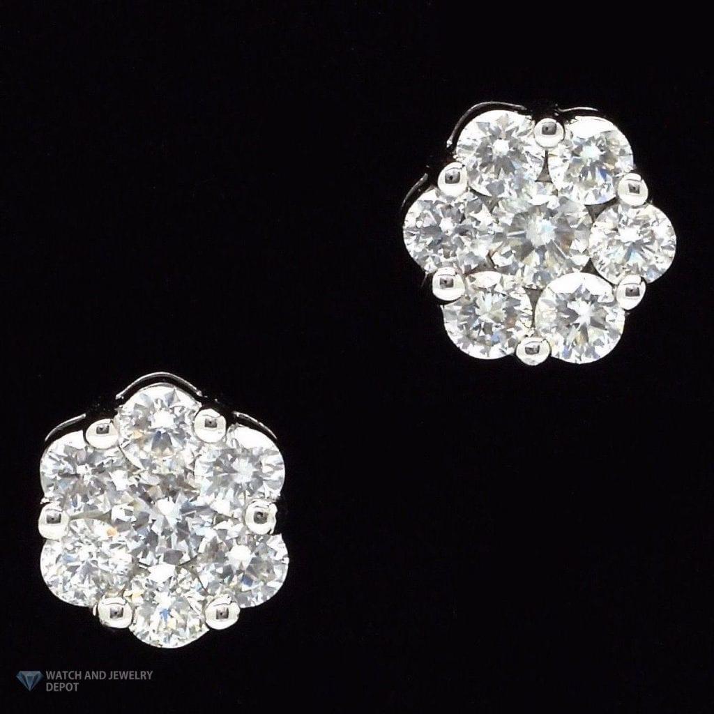 Diamond Earring Mountings